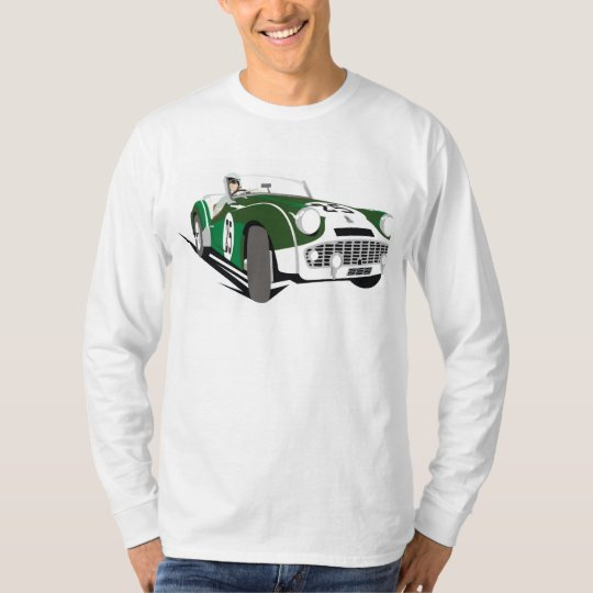 Vintage Triumph Car Hiking Duck T-Shirt
