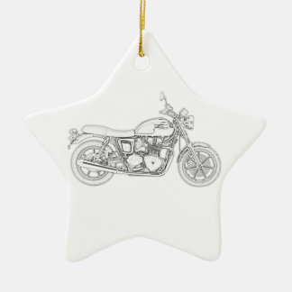 Vintage Triumph  Christmas Ornament