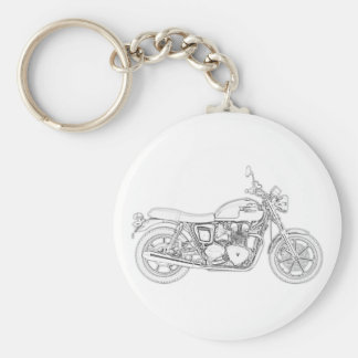 Vintage Triumph  Key Ring