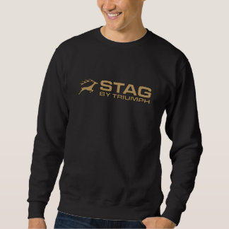 Vintage Triumph Stag Car Hiking Duck Sweatshirt