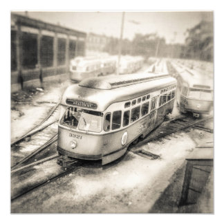 Vintage Trolley 1087-3321 Photographic Print