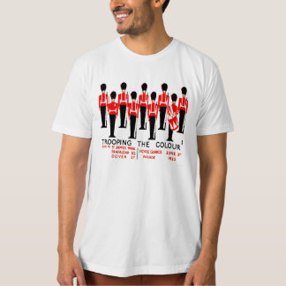 Vintage Trooping The Colour T-Shirt