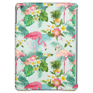 Vintage Tropical Flowers And Birds