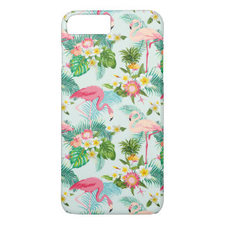 Vintage Tropical Flowers And Birds iPhone 8 Plus/7 Plus Case