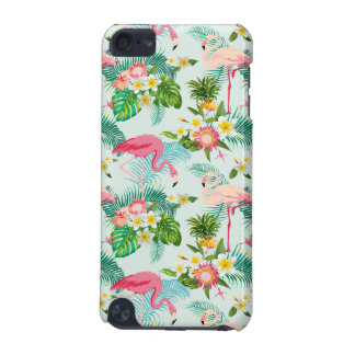 Vintage Tropical Flowers And Birds iPod Touch 5G Cases