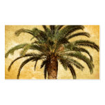 Vintage Tropical Palm Tree Double-Sided Standard Business Cards (Pack Of 100)