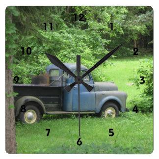 Vintage Truck Wall Clock