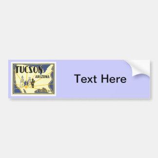 Vintage Tucson Arizona Bumper Sticker