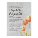 Vintage Tulip Bridal Shower Invitations