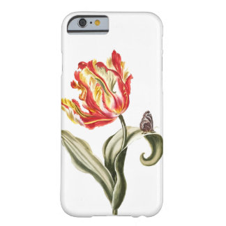Vintage Tulip Butterfly Garden Springtime Barely There iPhone 6 Case