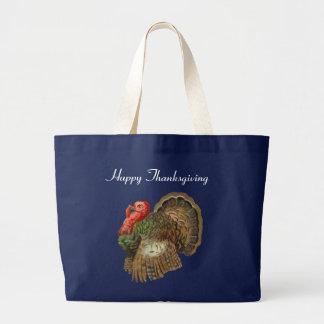 Vintage Turkey Jumbo Tote