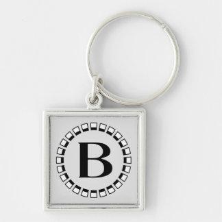 Vintage turn of the century monogram B Key Chains