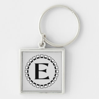Vintage turn of the century monogram E Key Chains