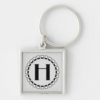 Vintage turn of the century monogram H Keychains
