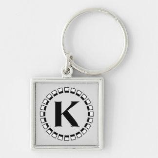 Vintage turn of the century monogram K Key Chain