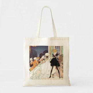 Vintage Twelve Dancing Princesses by Kay Nielsen Budget Tote Bag