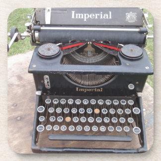 Vintage Type Writer Coaster