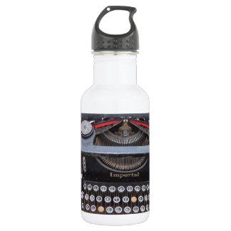 Vintage Type Writer 532 Ml Water Bottle