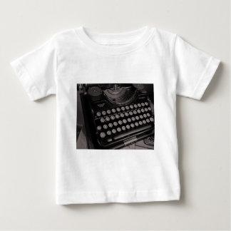Vintage typewriter B&W Baby T-Shirt