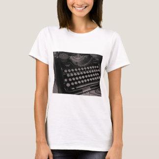 Vintage typewriter B&W T-Shirt
