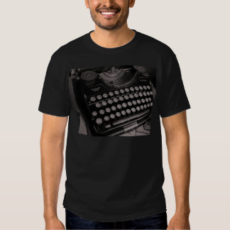 Vintage typewriter B&W T Shirts