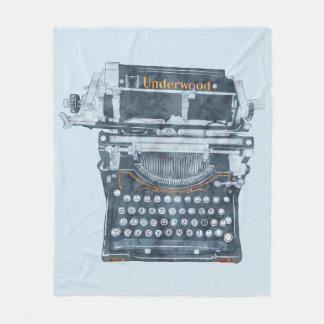 Vintage Typewriter Blanket