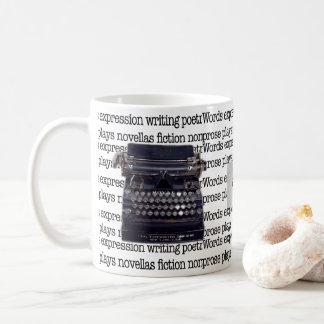 Vintage Typewriter Coffee Mug