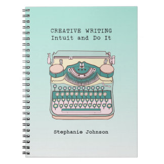 Vintage Typewriter Creative Writing Notebooks