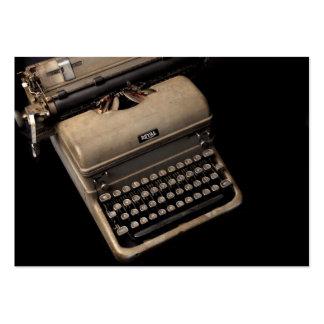 Vintage Typewriter Designs Business Card