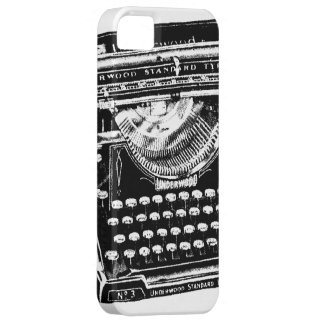 Vintage Typewriter Illustration iPhone 5 Covers