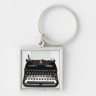 Vintage Typewriter Key Ring