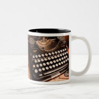 Vintage Typewriter Keys Mug