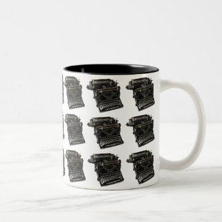 Vintage Typewriter Two-Tone Mug