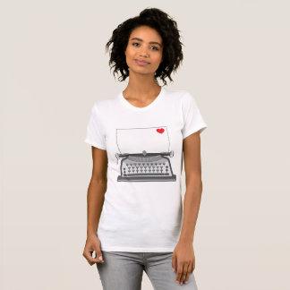 Vintage Typewriter Womens T-Shirt