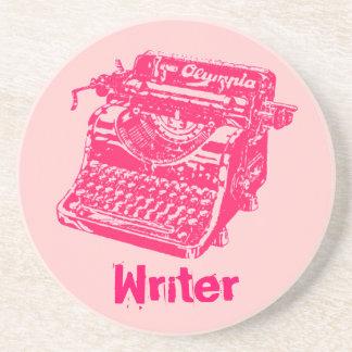 """Vintage Typewriter """"Writer"""" Coaster"""