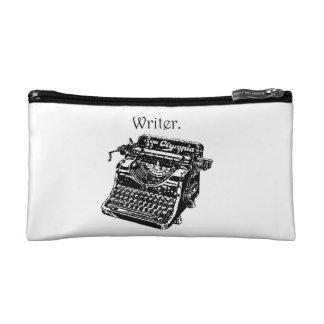 Vintage Typewriter Writer Sketch Makeup Bag