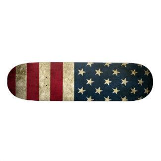 Vintage U.S. Flag Skateboard