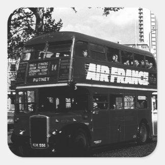 Vintage UK England London double decker bus Stickers