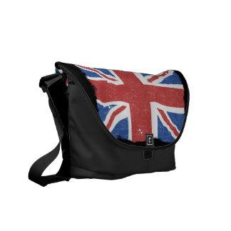 Vintage UK Flag 2 Commuter Bag
