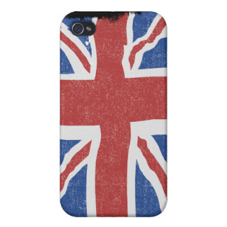 Vintage UK iPhone Case Covers For iPhone 4