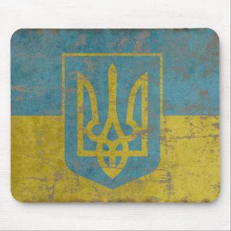 Vintage Ukraine Mouse Mat