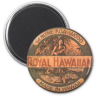 Vintage Ukulele Label Magnet