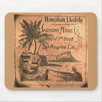 Vintage Ukulele Label Mousepad