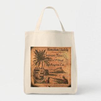 Vintage Ukulele Lable Bag
