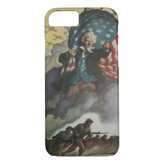 Vintage Uncle Sam Case