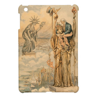 Vintage Uncle Sam Statue Liberty Republic Antique iPad Mini Case
