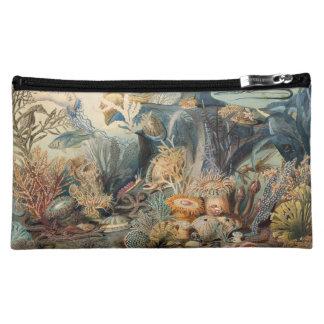 Vintage Under the Sea   Cosmetics Bag