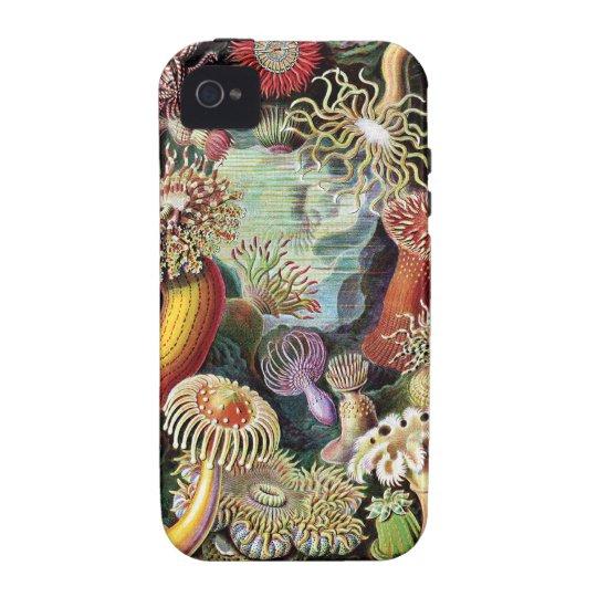 Vintage Underwater Coral & Sealife painting iPhone 4 Cover
