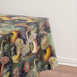Vintage Underwater Design With Subtle Beauty Tablecloth