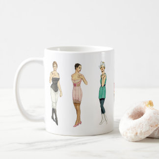 Vintage Underwear and Bathing Beauties Coffee Mug
